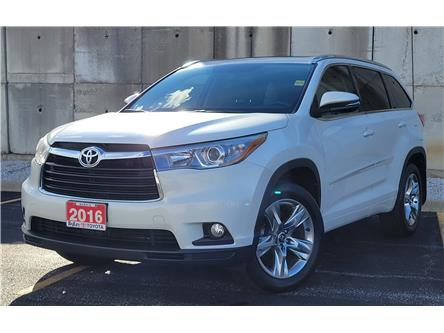 2016 Toyota Highlander Limited (Stk: A6180C) in Sarnia - Image 1 of 19