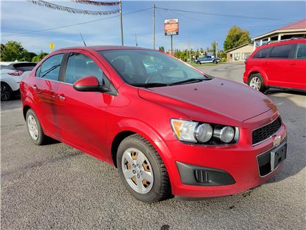 2012 Chevrolet Sonic LT (Stk: ) in Kemptville - Image 1 of 16
