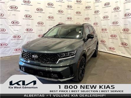 2021 Kia Sorento 2.5T SX w/Black Leather (Stk: 23301) in Edmonton - Image 1 of 31