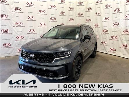 2021 Kia Sorento 2.5T SX w/Black Leather (Stk: 23277) in Edmonton - Image 1 of 32