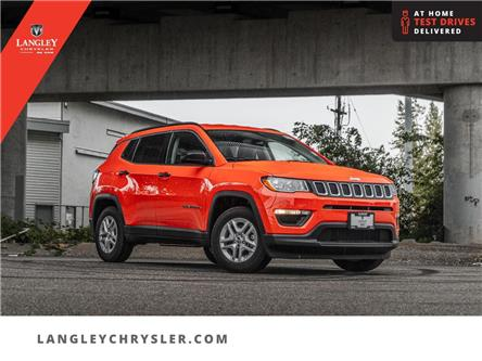 2021 Jeep Compass Sport (Stk: M585460) in Surrey - Image 1 of 23