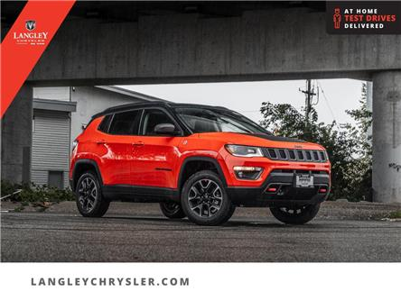 2021 Jeep Compass Trailhawk (Stk: M597851) in Surrey - Image 1 of 25