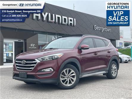 2017 Hyundai Tucson Premium (Stk: U55) in Georgetown - Image 1 of 29