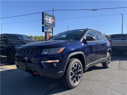 2021 Jeep Compass Trailhawk (Stk: 7155) in Sudbury - Image 1 of 19