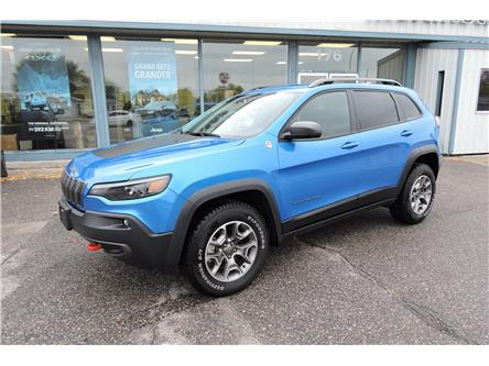 2020 Jeep Cherokee Trailhawk (Stk: 21013A) in Dryden - Image 1 of 9
