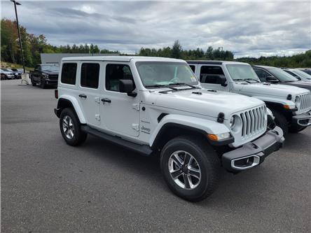 2021 Jeep Wrangler Unlimited Sahara (Stk: 21-341) in Huntsville - Image 1 of 3