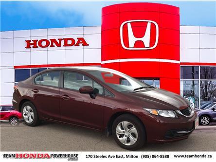 2015 Honda Civic LX (Stk: 3982A) in Milton - Image 1 of 10