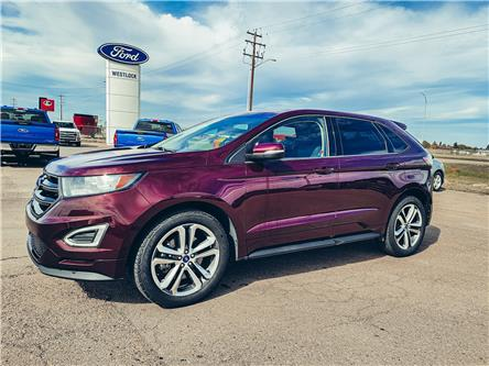 2018 Ford Edge Sport (Stk: 21242A) in Westlock - Image 1 of 7