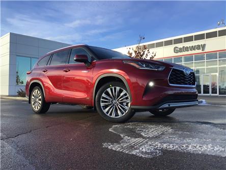 2021 Toyota Highlander Hybrid Limited (Stk: ORDER11074067 ) in Edmonton - Image 1 of 43