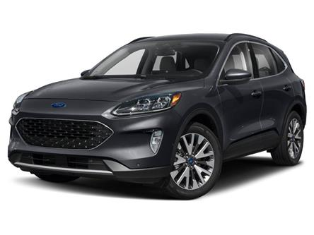2021 Ford Escape Titanium (Stk: W1102) in Barrie - Image 1 of 9