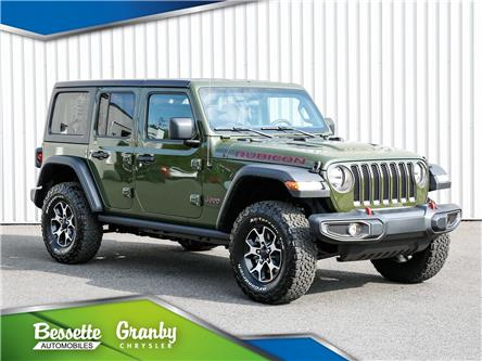 2021 Jeep Wrangler Unlimited Rubicon (Stk: B21-434) in Cowansville - Image 1 of 37