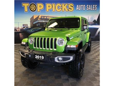 2019 Jeep Wrangler Unlimited Sahara (Stk: 623084) in NORTH BAY - Image 1 of 29