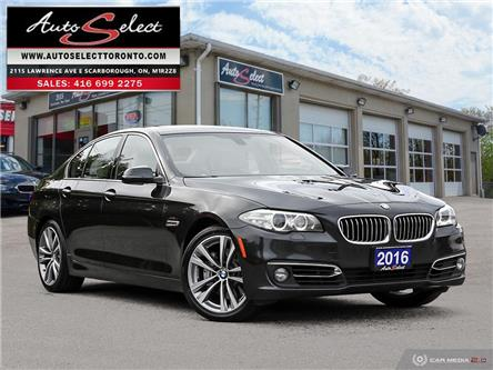 2016 BMW 535i xDrive (Stk: 16XM12T) in Scarborough - Image 1 of 28