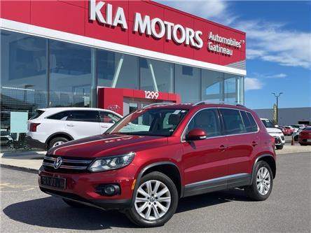 2012 Volkswagen Tiguan  (Stk: 21615A) in Gatineau - Image 1 of 20