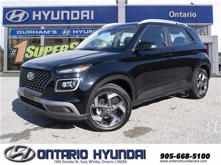 2021 Hyundai Venue Ultimate w/Black Interior (IVT) (Stk: 101497) in Whitby - Image 1 of 25