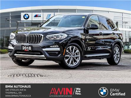 2018 BMW X3 xDrive30i (Stk: P10798) in Thornhill - Image 1 of 27