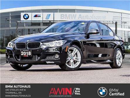2018 BMW 330i xDrive (Stk: P10803) in Thornhill - Image 1 of 29