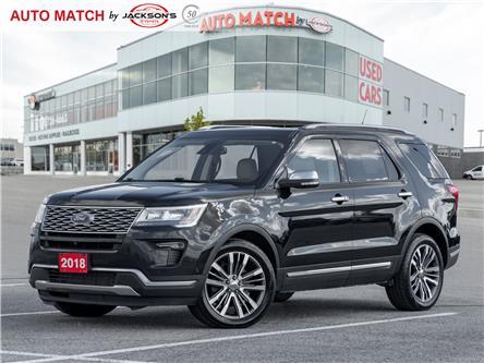 2018 Ford Explorer Platinum (Stk: U4099) in Barrie - Image 1 of 26