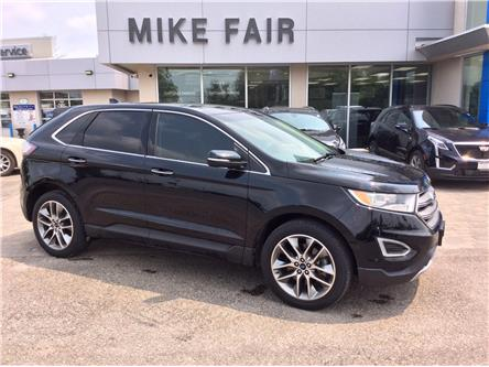 2017 Ford Edge Titanium (Stk: 21330B) in Smiths Falls - Image 1 of 15