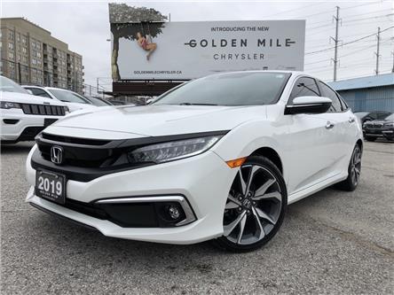2019 Honda Civic Touring (Stk: P5608) in North York - Image 1 of 30