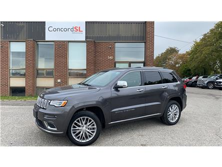 2018 Jeep Grand Cherokee Summit (Stk: C6506) in Concord - Image 1 of 5