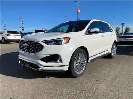 2021 Ford Edge Titanium (Stk: M-1519) in Calgary - Image 1 of 7