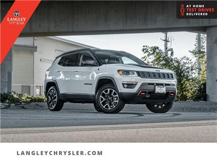 2021 Jeep Compass Trailhawk (Stk: M791678A) in Surrey - Image 1 of 27