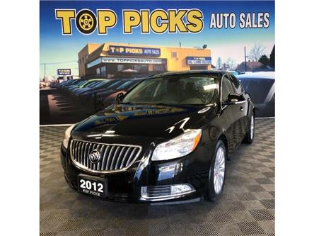 2012 Buick Regal Premium, Leather, Sunroof, Low Kms & Certified! (Stk: 195251) in NORTH BAY - Image 1 of 28