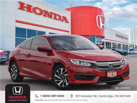 2018 Honda Civic LX (Stk: 22023A) in Cambridge - Image 1 of 27