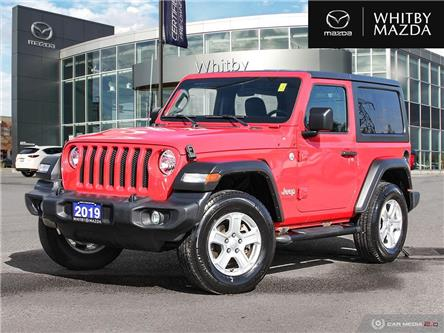 2019 Jeep Wrangler Sport (Stk: 210576A) in Whitby - Image 1 of 27