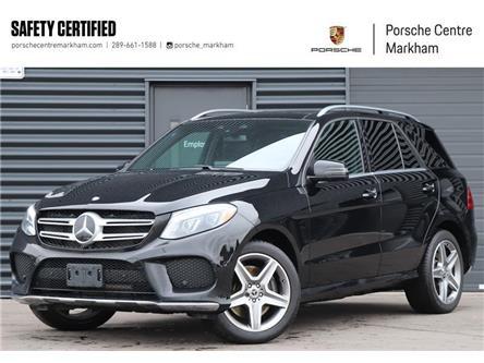 2017 Mercedes-Benz GLE 400 Base (Stk: PU0155A) in Markham - Image 1 of 26