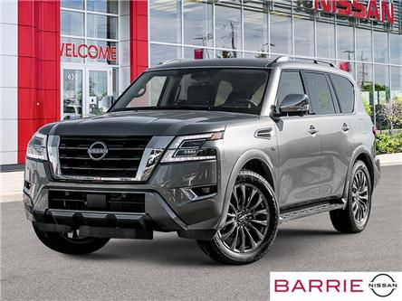 2021 Nissan Armada Platinum (Stk: 21509) in Barrie - Image 1 of 23