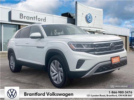2021 Volkswagen Atlas Cross Sport 3.6 FSI Highline (Stk: AS21714) in Brantford - Image 1 of 26