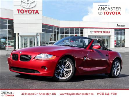 2003 BMW Z4 3.0i (Stk: 22009A) in Ancaster - Image 1 of 13