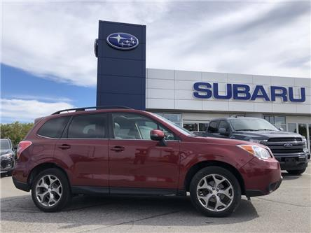 2015 Subaru Forester 2.5i Limited Package (Stk: P1123) in Newmarket - Image 1 of 3