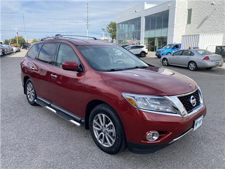 2015 Nissan Pathfinder SV (Stk: W0943BX) in Barrie - Image 1 of 29