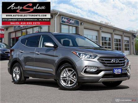 2018 Hyundai Santa Fe Sport AWD (Stk: 1HYTS741) in Scarborough - Image 1 of 30