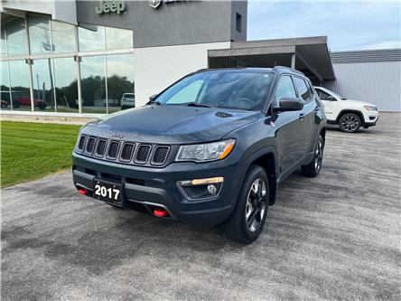 2017 Jeep Compass Trailhawk (Stk: 21151A) in Meaford - Image 1 of 20