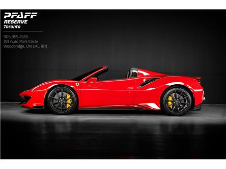 2020 Ferrari 488 Pista Spider Base (Stk: ) in Woodbridge - Image 1 of 24