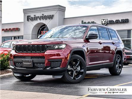 2021 Jeep Grand Cherokee L Laredo (Stk: MC589) in Burlington - Image 1 of 33