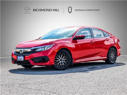 2017 Honda Civic EX (Stk: 21-452AA) in Richmond Hill - Image 1 of 25