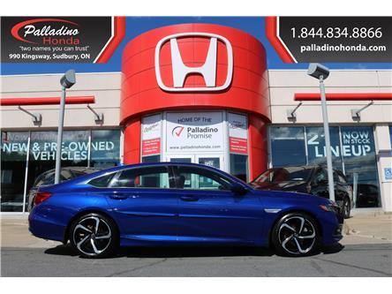 2018 Honda Accord Sport (Stk: U10154) in Greater Sudbury - Image 1 of 35
