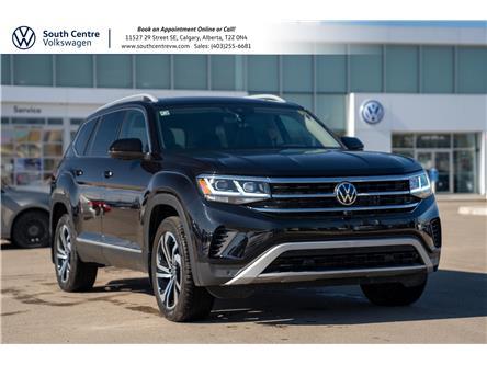 2021 Volkswagen Atlas 3.6 FSI Execline (Stk: 10416) in Calgary - Image 1 of 48