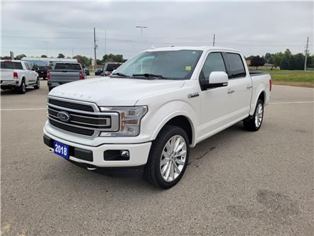 2018 Ford F-150 Limited (Stk: AA37243) in Goderich - Image 1 of 28