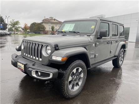 2021 Jeep Wrangler Unlimited Sahara (Stk: 21-284) in Ingersoll - Image 1 of 20