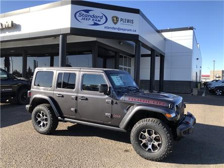 2021 Jeep Wrangler Unlimited Rubicon (Stk: 5M214) in Medicine Hat - Image 1 of 17