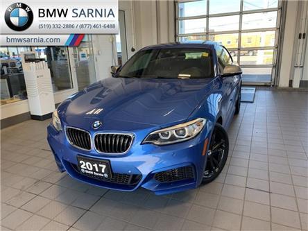 2017 BMW M240i xDrive (Stk: BU932) in Sarnia - Image 1 of 11