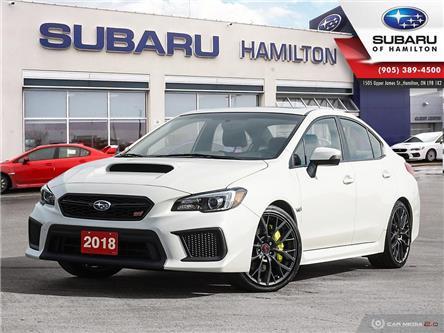2018 Subaru WRX STI Sport-tech w/Lip (Stk: U1762) in Hamilton - Image 1 of 29