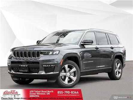 2021 Jeep Grand Cherokee L Limited (Stk: 21551) in Essex-Windsor - Image 1 of 23
