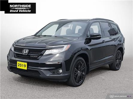 2019 Honda Pilot Black Edition (Stk: P6656) in Sault Ste. Marie - Image 1 of 25